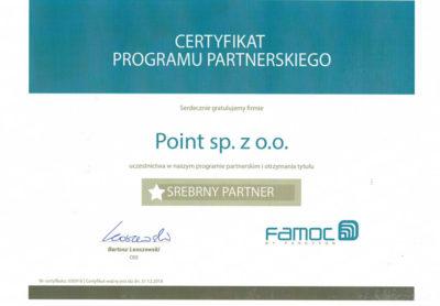 certyfikat famoc